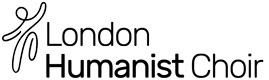 London Humanist Choir Sticky Logo
