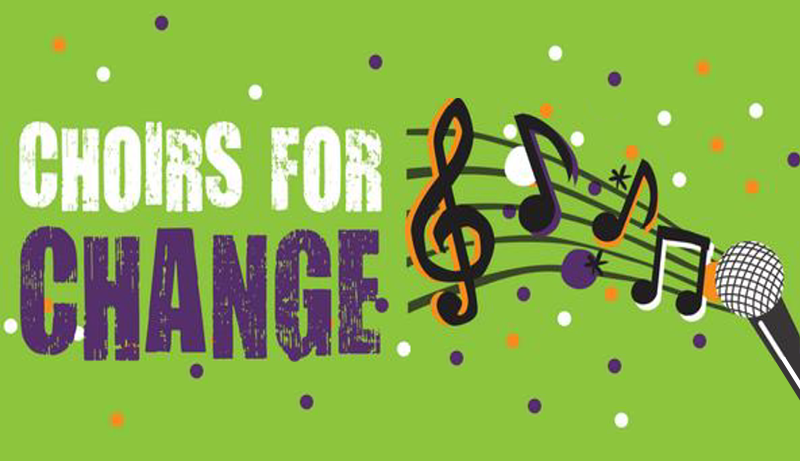 logo: Choirs for Change