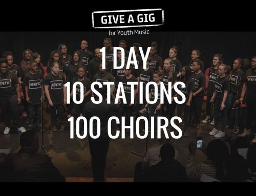 Busking at Waterloo Station – 24th March