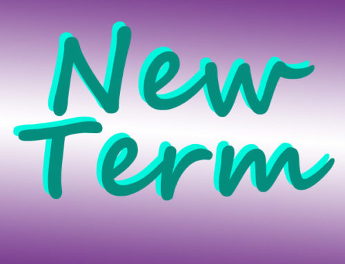 New year, new term – 5 January